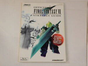 Official Final Fantasy VII 7 Strategy Guide Book Brady Games 1997 Playstation