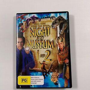 Night At The Museum/Night At The Museum 2 (DVD 2012) Ben Stiller Region 4
