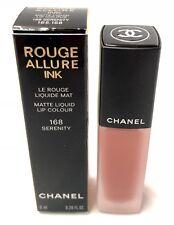 Chanel Rouge Allure Ink Matte Liquid Lip Colour 168 Serenity 0.2oz,/ 6ml