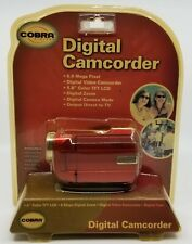 Cobra 5.0 MP Digital Video RED Camcorder Camera BRAND NEW & SEALED
