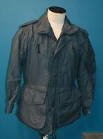 Used Canadian military parka Blue Sz 6736 ( ref#pb15box192)