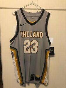 NBA Cleveland Cavaliers Lebron James Authentic Jersey Nike sz 52