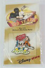 Disney Store JAPAN Pin Walt 100th Dreams #59 Mickey's Birtday Party 1942 Mickey
