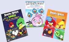 ANGRY BIRDS ~GIANT COLORING & ACTIVITY BOOK SET~ 300 PG