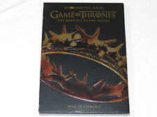 Game of Thrones The Complete Second Season War is Coming DVD 2015 5-Disc Set