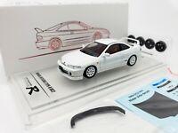 1:64 INNO64 Honda Integra Type-R DC2 1996 White Bonus Tuning Wheels Set+Decals