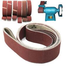 6x 2''x 72'' Sanding Belts 180/240/320/400/600/800 Grit For Grinding Polishing