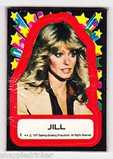 1977 Topps CHARLIE'S ANGELS Series 1 Sticker Set