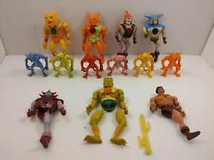 80s Blackstar Filmation Galoob Action Figures Lot of 13 Remco Lost World Demons