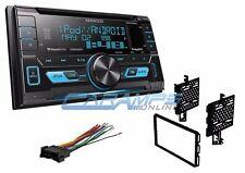 NEW KENWOOD CAR STEREO RADIO W/ USB/AUX INPUTS & SIRIUS XM READY W/ INSTALL KIT