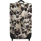Pugs All Over Design Caseskinz Case Cover SUITCASE NOT INCLUDED
