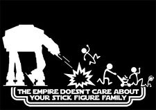 nobody cars stick family star wars galactic rebel alliance vinyl sticker white