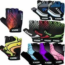 Cycling Gloves Half Finger MTB Bicycle Gel Padded Fingerless 10 designs Unisex
