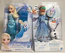 Disney Olaf's Frozen Adventure Anna's Treasured Traditions Elsa's Sledding Dolls