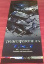 TRANSFORMERS MOVIE POSTER 1 Sided ORIGINAL Advance 13.5x40 MEGAN FOX