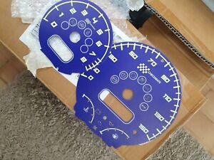 Mini Cooper S R53 Custom Checkmate Clock Faces