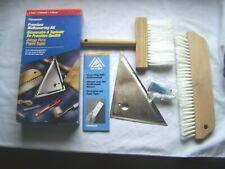Premium Wallcovering Kit Boxed Wallpapering Brushes Edging Tool