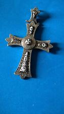 Ancienne Croix Pectorale en Argent & Email / Antique Pectoral Silver Cross