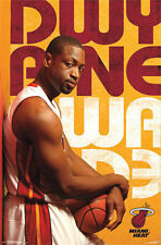 Dwyane Wade NBA - Miami Heat - Basketball Poster