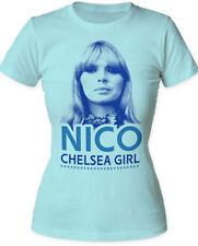 Nico-Chelsea Girl-Girl's Junior Large Light Blue T-shirt