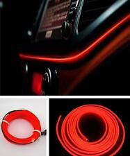 200cm Car Cold Light Red Lamp Strip Atmosphere Interior Decorative Trim For Ford