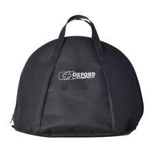 Oxford lidsack casque moto Sac couvercle d'accident rangement Carry NEUF Noir