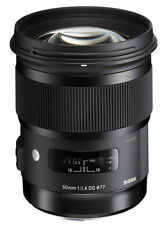 Sigma 50mm f/1.4 DG Lens for Nikon