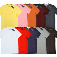 Tommy Hilfiger Solid Short Sleeve T-Shirts for Men