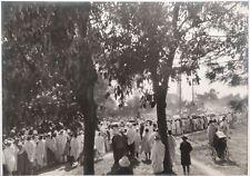 ✒ CROISIERE NOIRE CITROEN photographie originale arrivée Tananarive MADAGASCAR