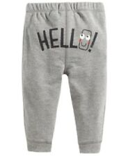 First Impressions Baby Boys' Pull-On Hello Jogger Pants, Gray 6-9 Months