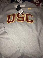 USC Trojans Nike Crew Coach Pullover Sweatshirt XXL