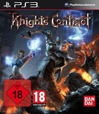 Ps3/Sony PlayStation 3 Jeu-Knights Contract (avec neuf dans sa boîte) (usk18)
