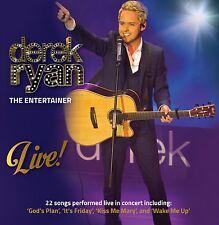 DEREK RYAN - THE ENTERTAINER LIVE!: CD ALBUM (2014)