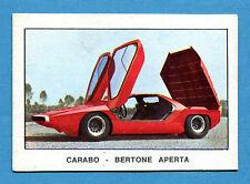 AUTO 1970 ? - Figurina-Sticker - CARABO BERTONE APERTA