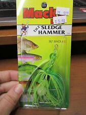 Mack's Lures Sledge Hammer Trolling Lure, Color: Frog