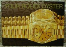 Vintage 1994 Rolex Your Oyster Booklet  English
