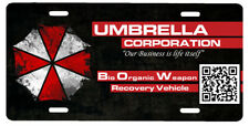 New Custom Resident Evil Umbrella Corp BOW Recovery Vehicle License Plate