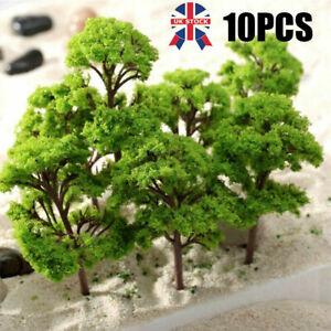 10X 12cm Trees Model Train Railroad Wargame Diorama Garden Scenery Landscape UK
