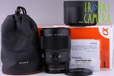 Sony Carl Ziess 135mm F/1.8 AF Lens SAL135F18Z for Sony Monlta #3023