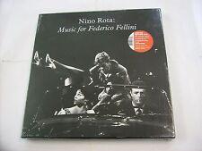 NINO ROTA - MUSIC FOR FELLINI - 3LP BOXSET NUMERATO 2010 NEW SEALED - COPY # 167