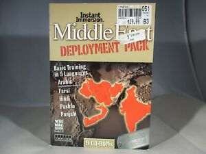 Instant Immersions Middle East Deployment Pack 5 Language Learning PC or Mac