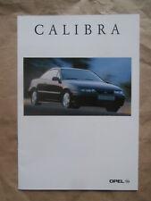 Opel Calibra Young +Ciff Motorsport Edition +Classic 16V 2.5 V6 Katalog 7/1996