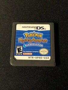 Pokemon Mystery Dungeon: Blue Rescue Team (Nintendo DS, 2006) Cart Only