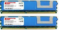 Komputerbay 8GB (2x 4GB) 240 Pin 800MHz PC2-6400F DDR2 ECC Fully Buffered