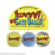 Yeowww! Organic Catnip My Cats Balls - Made in the USA