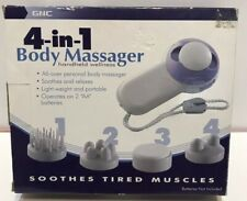 GNC 4-in-1 Body Massager Handheld Wellness  New In Box Free Shipping