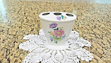 Jlona CeramicToothbrush Holder Colorful Flowers ~ Western Germany