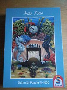 Jigsaw Puzzle 1000 Pieces Schmidt Jacek Yerka Great Condition