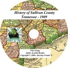1909 History & Genealogy SULLIVAN County Tennessee TN