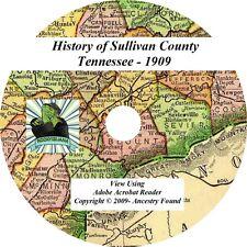 1909 History & Genealogy SULLIVAN County Tennessee TN